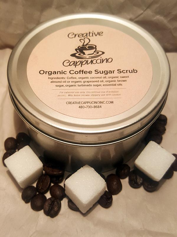 Organic Coffee Sugar Scrub